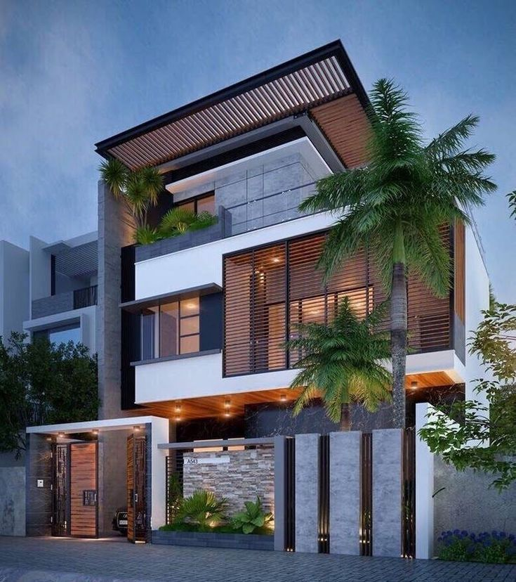 Learn More About How To Style Your Home Design Into A Mid Century Aesthetic House Exterior Facade House Dream House Exterior