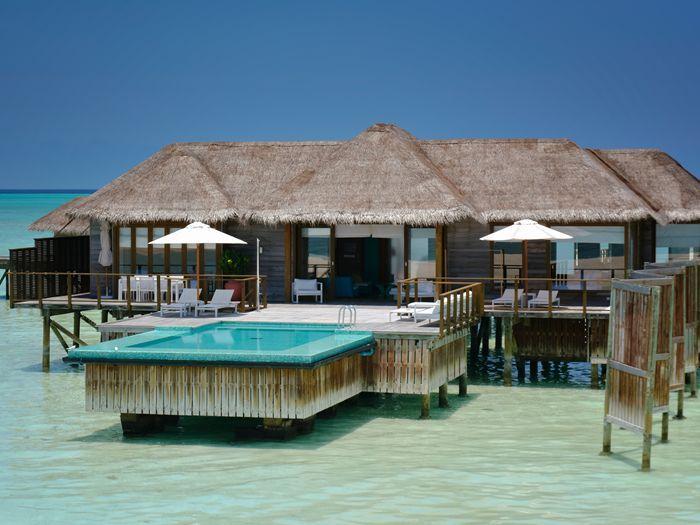Conrad Maldives Rangali Island Hotel Sunset Water Villa