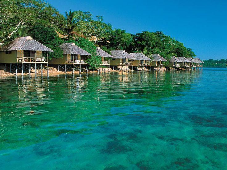 Location, location! Iririki Island Resort, Vanuatu  www.islandescapes.com.au