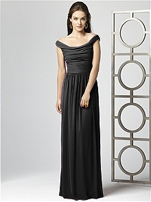 Dessy Collection Style 2859 #black #bridesmaid #dress