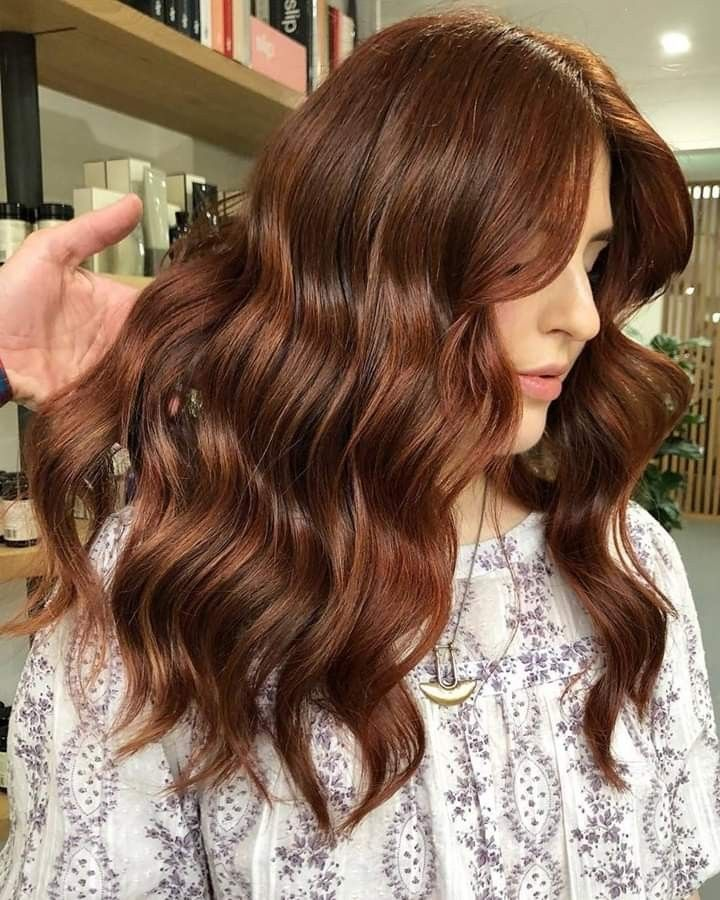 14+ Medium auburn on dark brown hair inspirations
