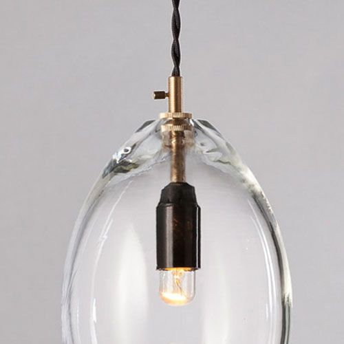 Suspension en verre et laiton Unika GM Northern Lighting
