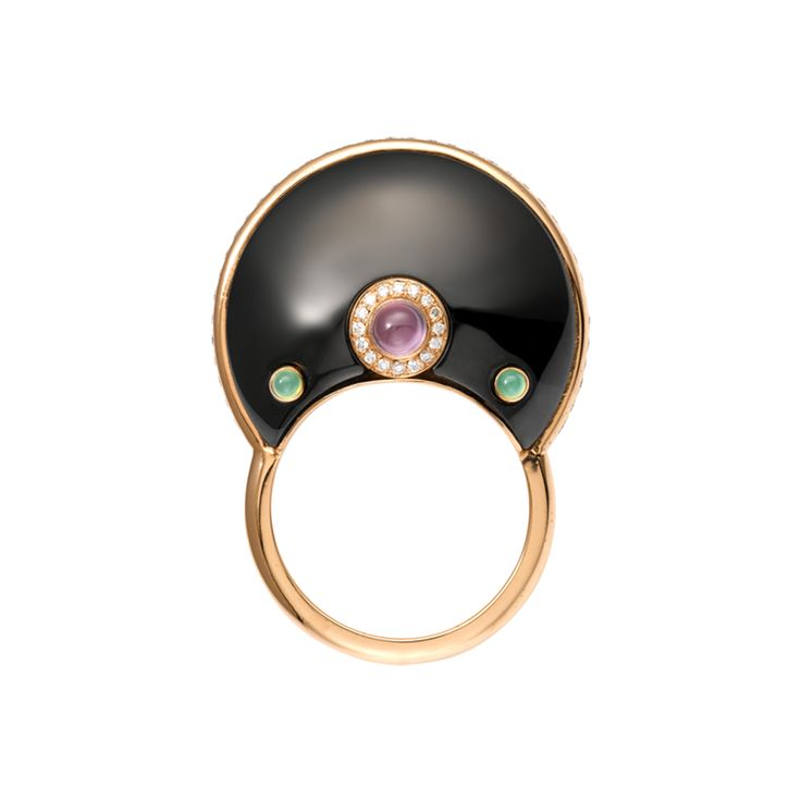 Anello vasions joailli res cartier oro rosa diamanti for Nancy b fine jewelry