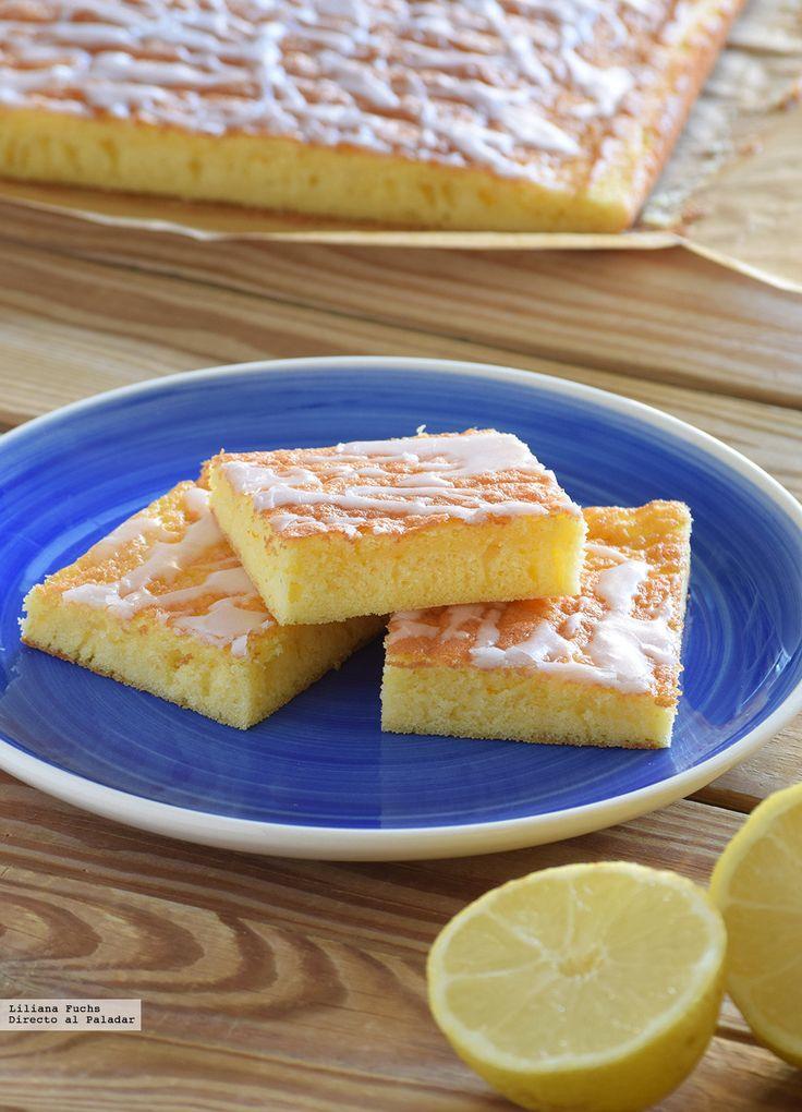 Bizcochitos esponjosos de naranja y limón