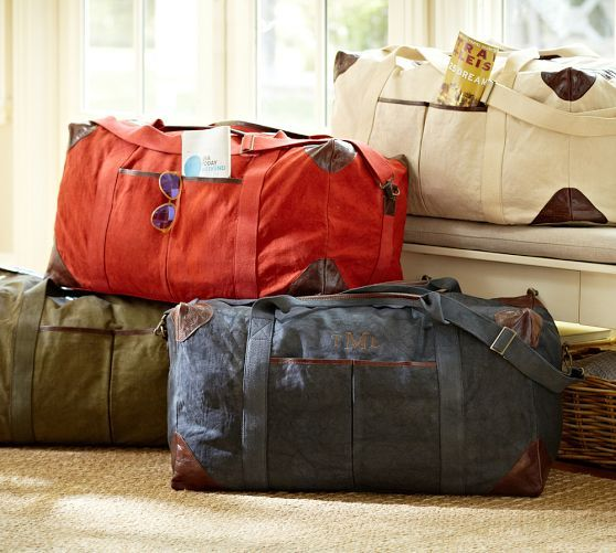Union Canvas Large Weekender Bag | Pottery Barn