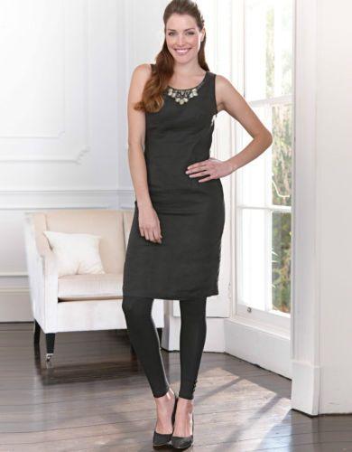 Bravissimo-Embellished-Shift-Dress-by-Pepperberry-in-Black-Color-31