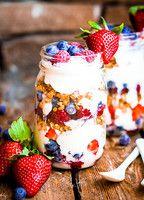 Zum Frühstück isst eine Ballerina zum Beispiel Müsli mit Joghurt und Beeren