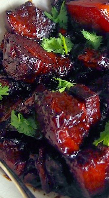 Instant Pot Red-cooked Pork (Hong Shao Rou)