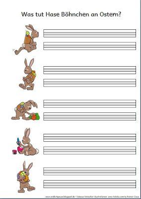Endlich Pause 2.0: Hase Böhnchen - Sätze schreiben