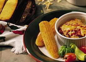 Bacon Cornbread: Come and get it! Bacon flavors this true southern ...