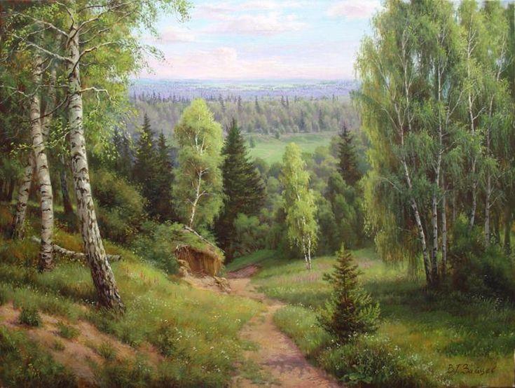 Zaytsev Vitaliy. Path through the forest