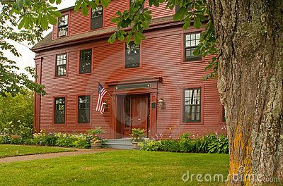 Pin by missy lusk richmond on salt box houses pinterest for New england colonies houses