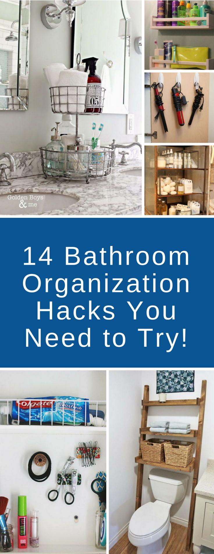 best 25+ bathroom organization ideas on pinterest | restroom ideas
