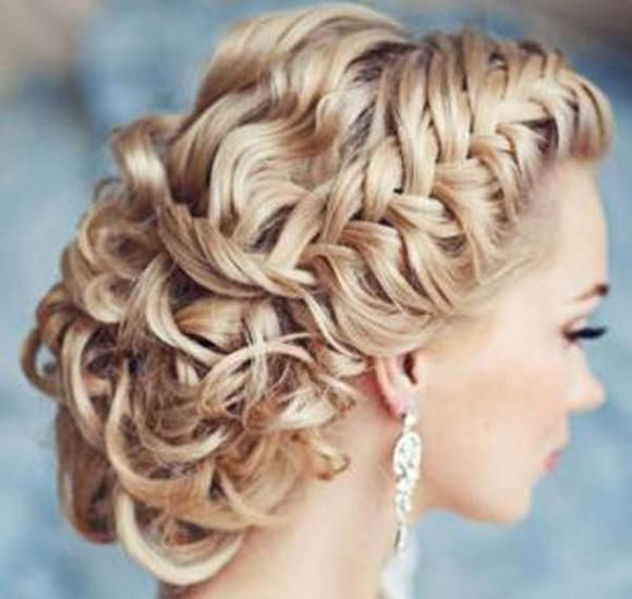 Bridal Hairstyle With Rose : 1542 best peinados images on pinterest