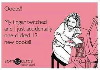 Hahaha or put £300 pounds worth of books in your basket and just wish... a fairy comes and magically buys them for you ? Or maybe santa? Haha