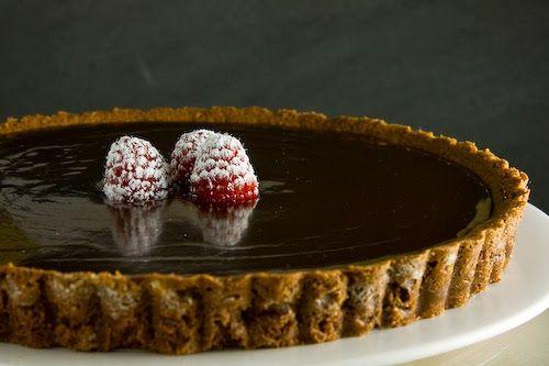 Suzie pečie s láskou škaredé koláče : Ganache: Najlepšia čokoládová poleva na svete