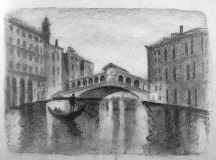 La mente en la mano. Guía práctica de pintura y dibujo.: 18. Dibujar con grafito. Lápiz, barra, grafito en polvo.