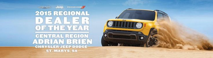 Adrian Brien Chrysler Jeep Dodge was today awarded 2015 regional dealer of the year #goteam woo!  https://www.facebook.com/locspoc/posts/10154470921089338?pnref=story