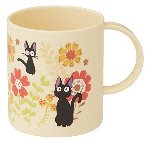 Product review for Skater Studio Ghibli Kiki's Delivery Service Plastic Mug Cup KP5 Jiji and Gerbera capable of washing machine – All About Kitchen & Dining