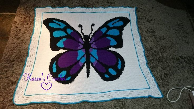Butterfly graphghan :)