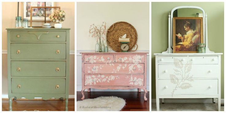 22 Gorgeous Ways to Breathe New Life Into an Old Dresser  - CountryLiving.com