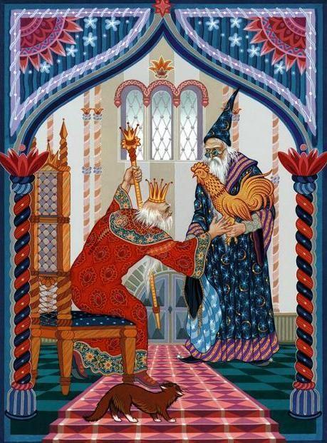 Сказка о Золотом петушке картинки (А.С.Пушкин)