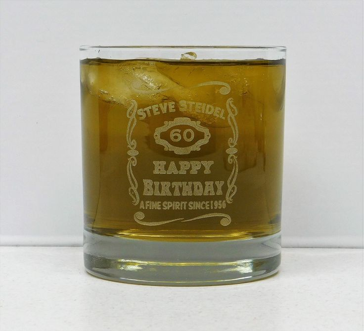 Personalized Happy Birthday Glass, Custom Birthday Glass, 60th Birthday, 50th Birthday, 40th Birthday, 39th Birthday, 30th Birthday, 21st Birthday, Happy Birthday Glass, Custom Glass. Custom Happy Birthday with personalized Name and year of Birth. Makes a great birthday gift no matter what birthday you are celebrating. This 11 oz. hand sand etched glass with be the perfect gift, Customize with personal name, Year of birth and the number of birthdays they are celebrating.