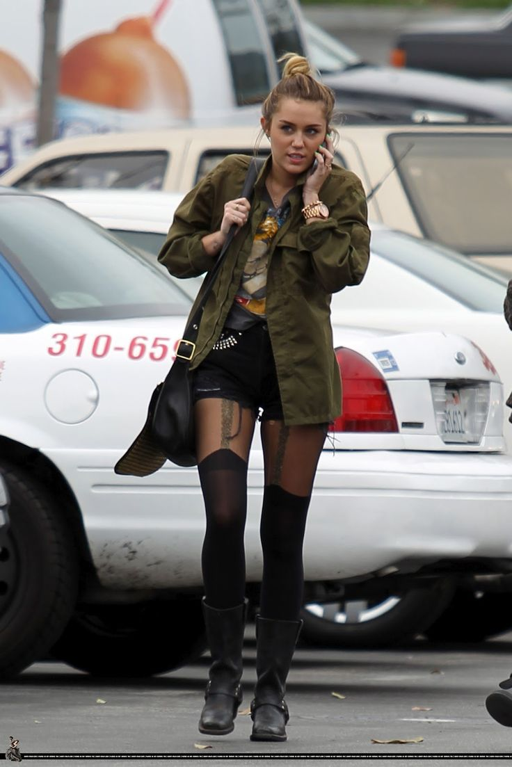 Miley Cyrus Style 2012 | The Fashion Breakfast: Miley Cyrus: street style