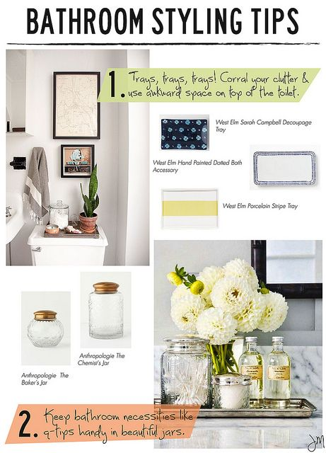 8 great tips for styling your bathroom