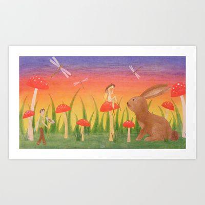 Apology Art Print by Sheridan van Aken - $22.88