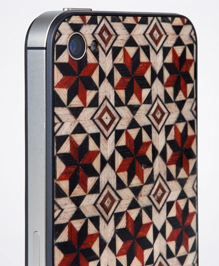 Taracea wood backs for IPhone - AIKABIA