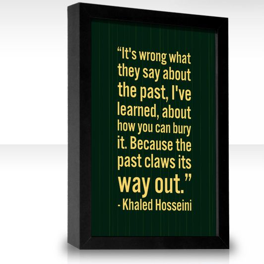 Love Finds You Quote: Khaled Hosseini