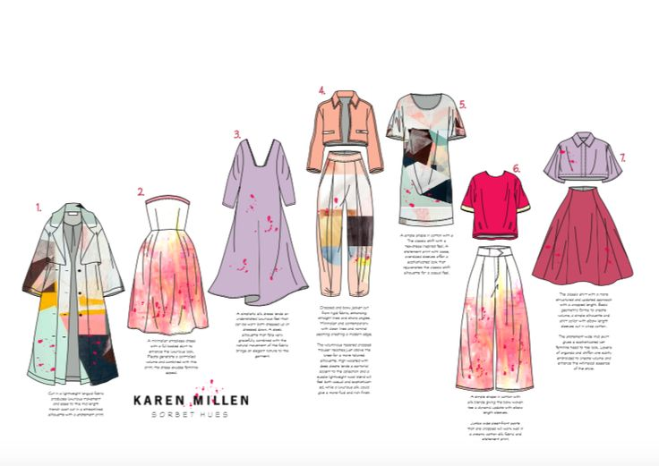 Karen Millen brief- Product line up by Hannah Brook