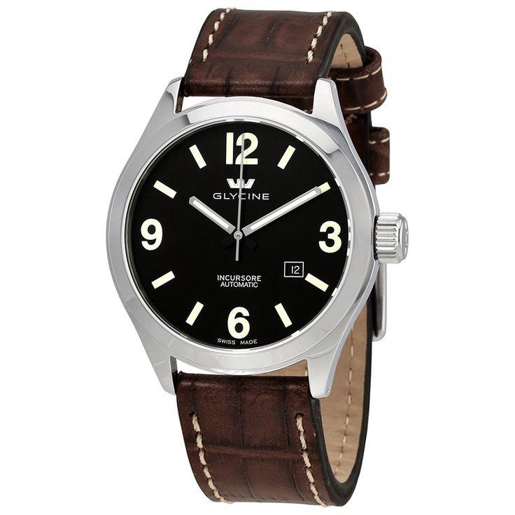 GLYCINE Incursore Automatic Brown Dial Men's Watch