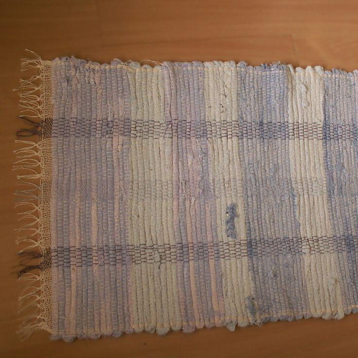 tkaný kobereček - hadrák - modrý