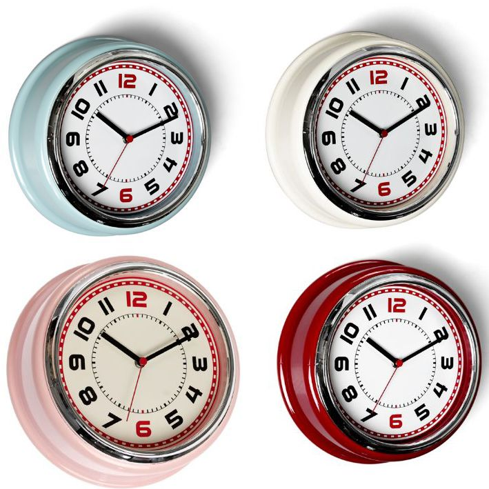 Retro Bakelite 50's Diner Wall Clocks