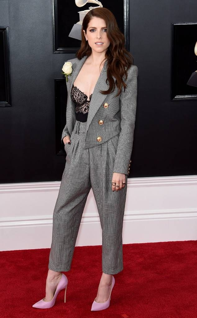 Anna Kendrick from Standout Style Moments From Grammys 2018 | E! News