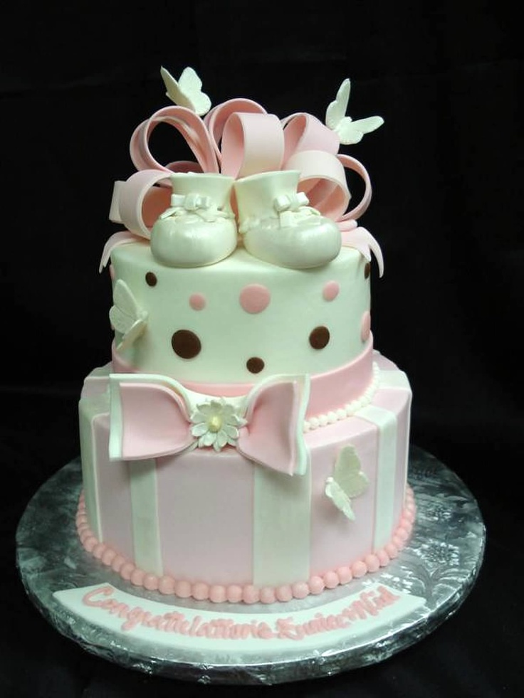best christening cakes images on   baby shower cakes, Baby shower invitation