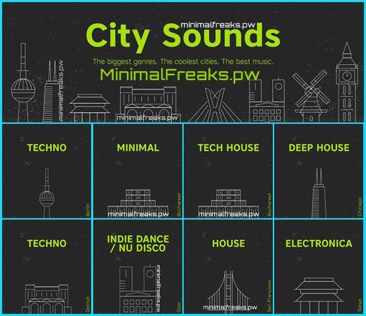 Beatport City Sounds November 2016 MFSW36 – Berlin, Bucharest, Chicago, Detroit, Oslo, San Fracisco, Tokyo » Minimal Freaks