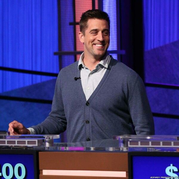 Way to go!!!  Love him! ✌❤Aaron Rodgers on Jeopardy