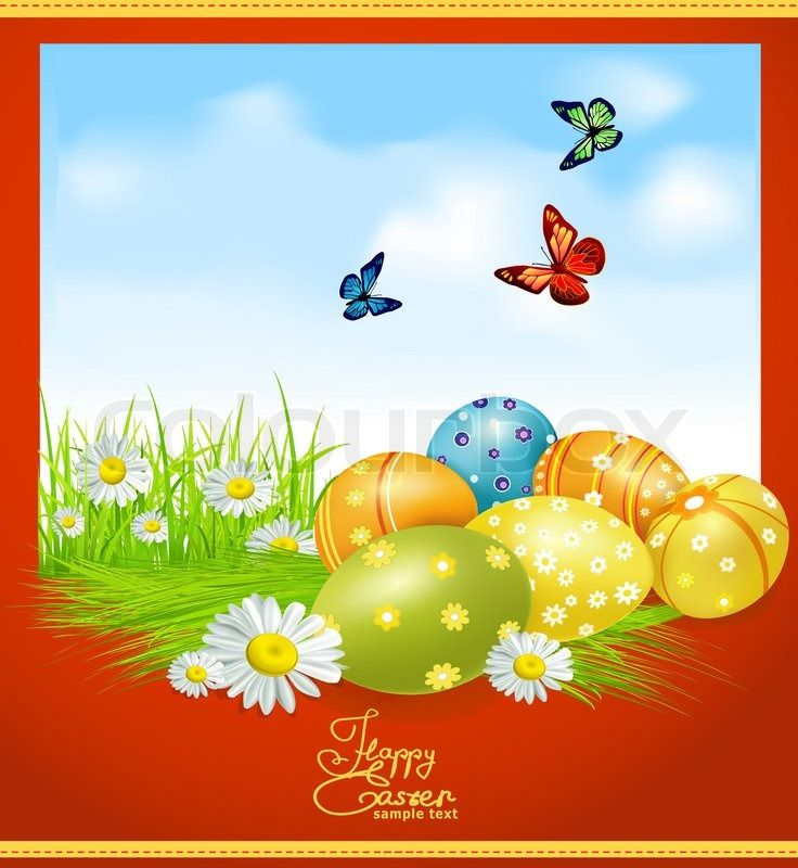 119 best Easter Inspiration images on Pinterest Resolutions - easter greeting card template