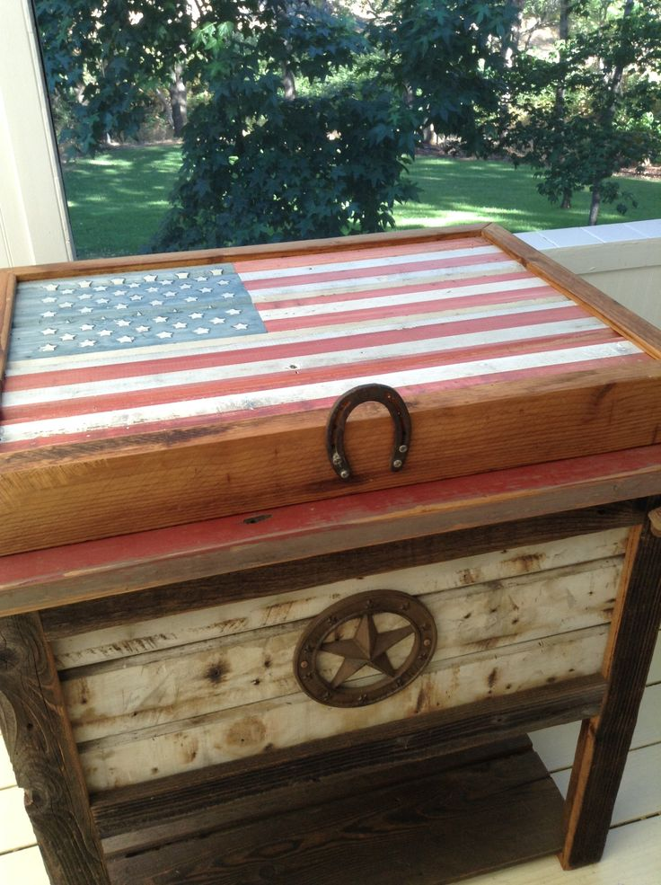 35 Best Images About Rustic Coolers On Pinterest