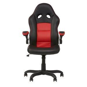 Hummingbird Bathurst Racer Chair Red Black | Officeworks