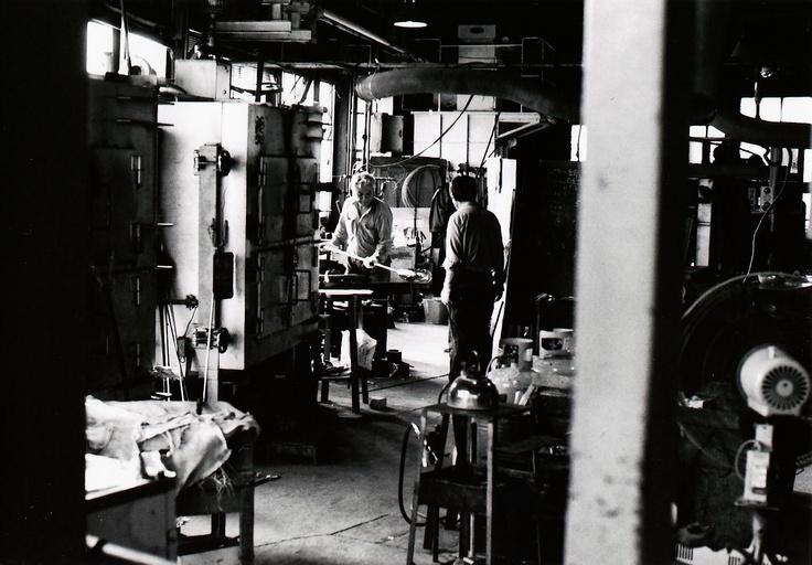 旧月夜野町 ガラス工場