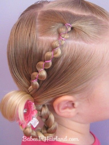 Lots of cute little girl hairstyles