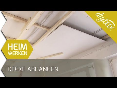 Decke Abhängen Holzkonstruktion Herstellen Haus Garten