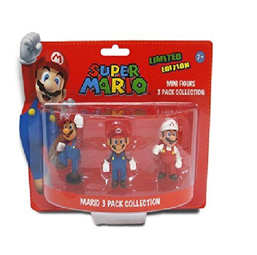 Super Mario Brothers 2-inch Mario Mini-figure Set @ niftywarehouse.com #NiftyWarehouse #Mario #SuperMario #Nintendo #VideoGames #Gaming #MarioBrothers