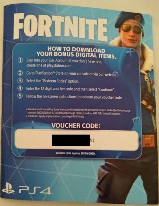 Fortnite Skins Free Ps4 Code