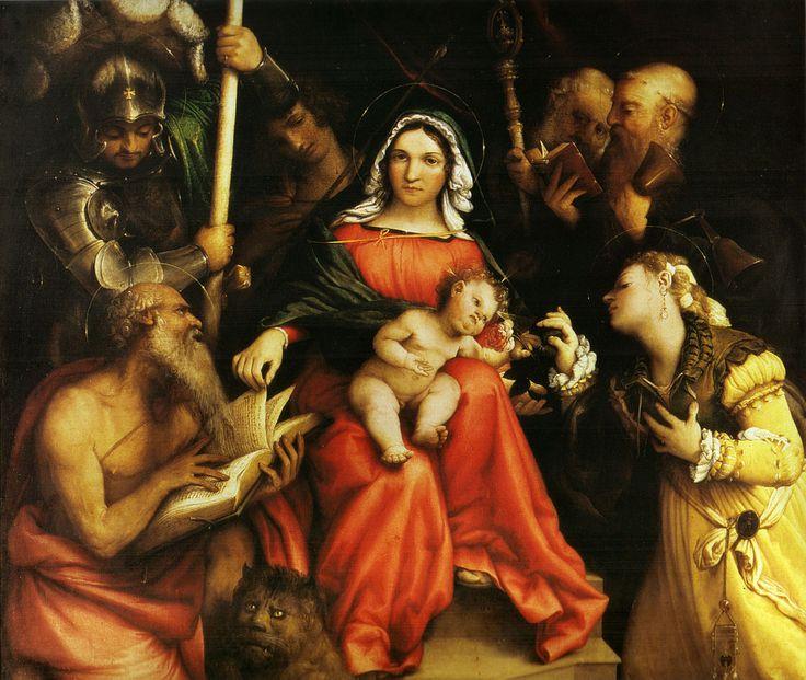 st catherine of alexandria - Lorenzo Lotto.jpg (1212×1024)
