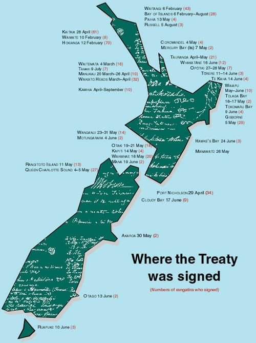 Where the Treaty was signed
